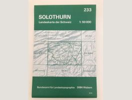 233 - Solothurn (1:50'000)