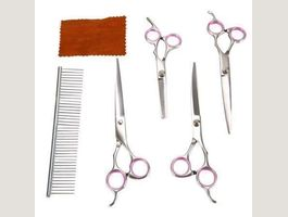 6tlg. Pet Grooming Schere Set