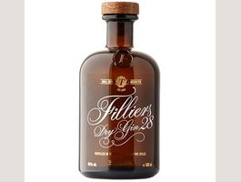 Filliers Dry Gin 28 0,5 Liter 46 % Vol.