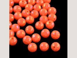 Acrylperlen facettiert Tomate 5.5-6mm