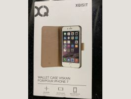 XQISIT Wallet Case Viskan iPhone 7