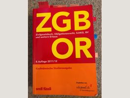 ZGB OR - Obligationenrecht
