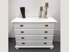 Kommode Sideboard Shabby Chic weiss