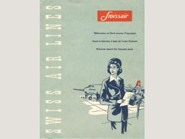 Swissair Mappe mit Briefpapier