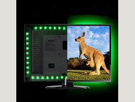 LED Strip Lichtkette TV Wand Band 2M