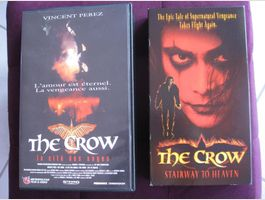 The Crow - 2 cassettes VHS