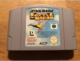 Star Wars Battle for Naboo für N64