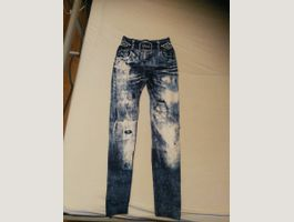 Leggings in Jeans Optik Gr. 32-38