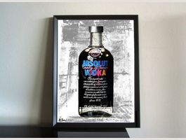 Absolut Vodka Warhol Kunst Pop Art Dekor