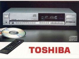 Kult: Vintage CD-Player Toshiba XR-Z-70!