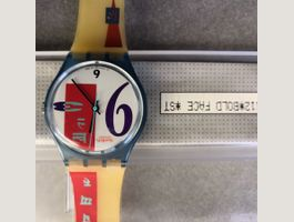 Swatch bold face