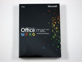 Microsoft Office 2011 Home & Business -