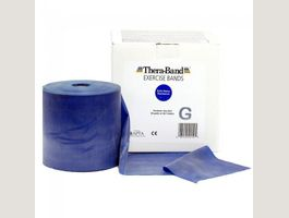 Thera-Band blau 45 Meter Rolle