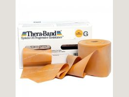 Thera-Band gold 45 Meter Rolle