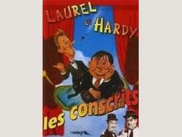 LAUREL & HARDY Les Conscrits Flying Aces