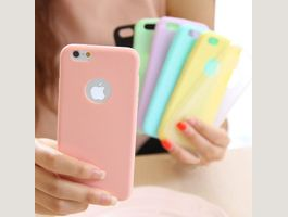 Thin Candy Color Soft TPUCase iPhone 7