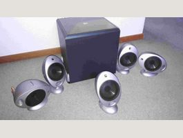 KEF PSW2000/HTS2001 Surround-LS, 5.1