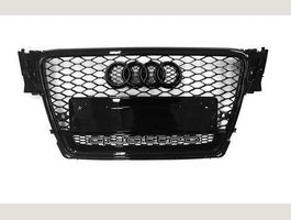 Grill RS4 Look Schwarz A4 S4 B8 Bj.07-12