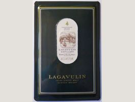 Blechschild 3D-LAGAVULIN SCOTCH WHISKY