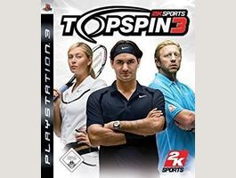 PS3; TOP SPIN 3            NP= 24.90 CHF