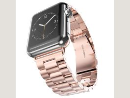 Apple Watch 42mm Edelstahl Luxus Armband