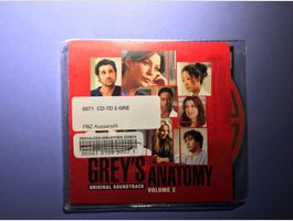 CD Grey's Anatomy –  Soundtrack Volume 2