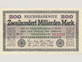 *RAR*200 Milliarden Mark 1923/Pick 121d