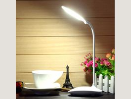 Lampe de bureau LED dimmable tactile USB