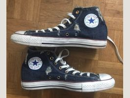 "Converse All Star Hi ""Limited"" Denim"
