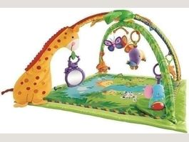 Fisher Price K4562 - Tapis de La Jungle