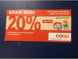 20% Rabatt Fisher-Price Sortiment
