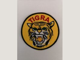 Aufnäher Badge Patch Mofa Töffli TIGRA