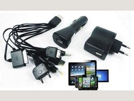 Multi USB Mobile Charger Smartphone New
