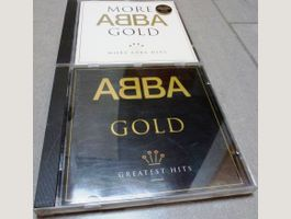 ABBA GOLD + MORE ABBA GOLD  CDs