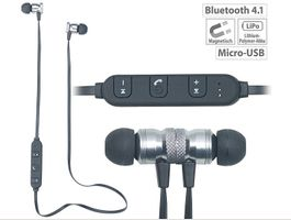 In Ear Stereo Headset Bluetooth 4.1