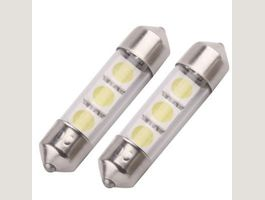 2x 36mm LED Interio 3 SMD C5W Canbus