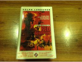 VHS Red Scorpion