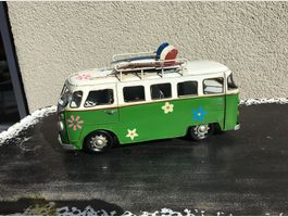 VW Bus Metall Deko