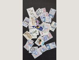 Lot timbres France 1983