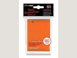 UP - Small Sleeves - Orange (60 Sleeves)