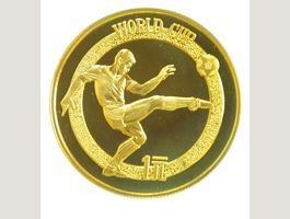 China 1 Yuan 1982 Fussball-WM