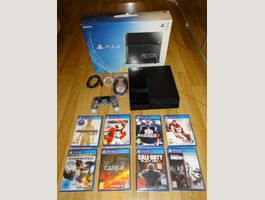 Sony Playstation 4 PS4 & 8 Games
