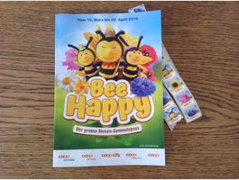 40 Bee Happy Sammelmarken Coop
