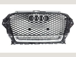 Grill RS3 Look Schwarz/Silber A3 S3 8V