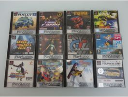 12 x Playstation Spiele Games PSX PAL