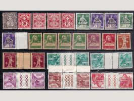 "CH Briefmarken Lot ""ungerstempelt"""