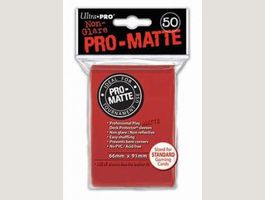 UP - Standart Sleeves Pro-Matte - Red