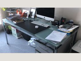 Office table and drawers