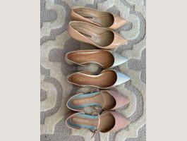 3 pair of shoes 40 size