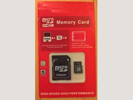 Micro SD Karte 128GB mit Adapter
